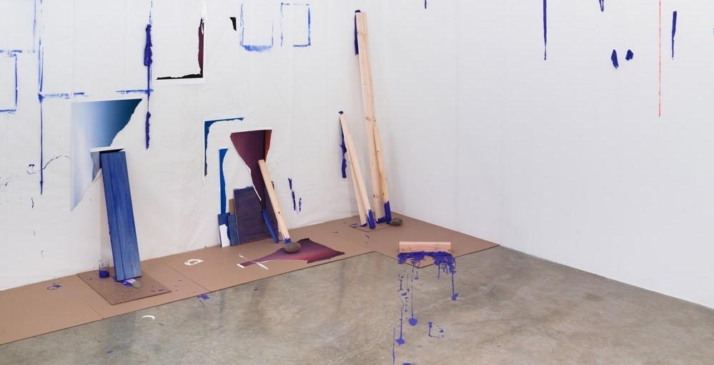 Sarah Sze, installation at Tanya Bonakdar Gallery, 2015. From: https://dailyartfair.com/exhibition/4444/sarah-sze-tanya-bonakdar-gallery